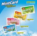 7g sugar free Refreshing Mint Card (Dental Mints)