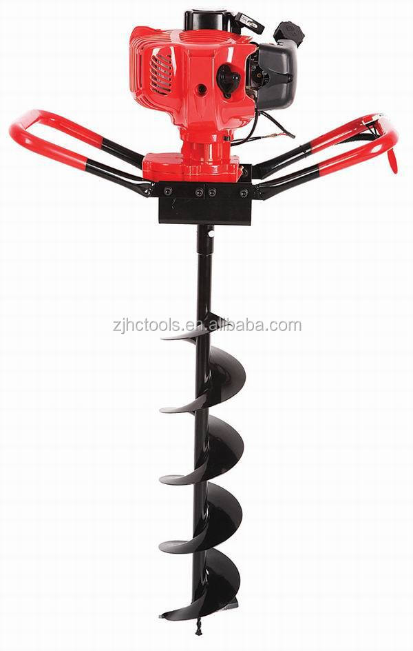 hot sales 52cc gasoline earth auger drill