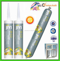 Glass panel high pressure silicone sealant with good adhesive and weatherproofing