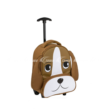 Cute Child Trolley Bag With Carry Handle