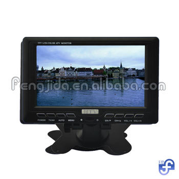 Hot sale 7 inch portable TV