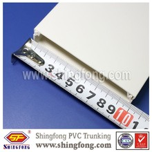 Solid PVC duct, wiring duct, cable ducting