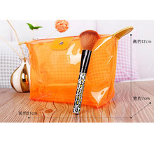 Portable Clear EVA PVC Cosmetic Bag Makeup Travel Organizer Waterproof Zipper Toiletry Packaging Bag