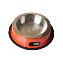 Hot sale manufacturer China stainless steel suction cup pet bowl