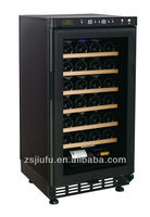 28 bottles carrier air conditioning electronic control wine cooler