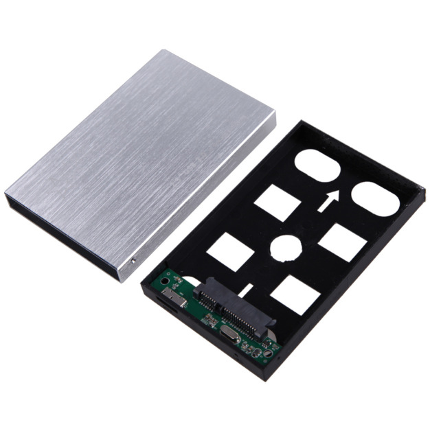 High Speed 2.5 Inch Aluminium USB3.0 to SATA External HDD HD Hard Disk Drive Enclosure Case Cover