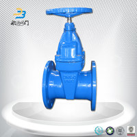 Industrial Flanged Gate Valve Dimensions