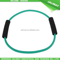 Hot sale latex toning rubber tube O type ring expander for fitness
