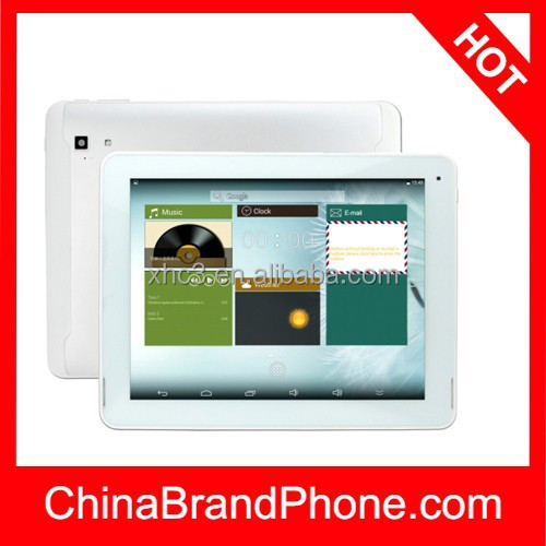 large screen tablet pc PiPO P1 WiFi Version 9.7 Inch TFT Screen Android 4.4.2 Tablet PC, CPU: Rockchip RK3288 Quad Core 1.6GHz