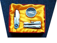 Multi toolS folding pocket knife, Tools pliers ,compass with gift box