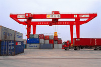 50 ton double girder Container Gantry Crane