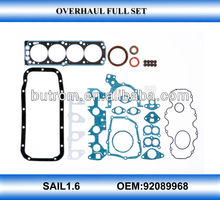 Top gasket auto spare engine repair part for SAIL1.6 L01/M79(92089968)
