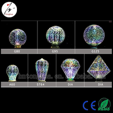 New Arrival Beautiful 3D LED Edision Bulb for KTV,Bar,Decoration Lighting