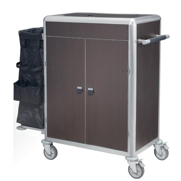 Hotel Guestroom Housekeeping Linen Trolley Maid Cart
