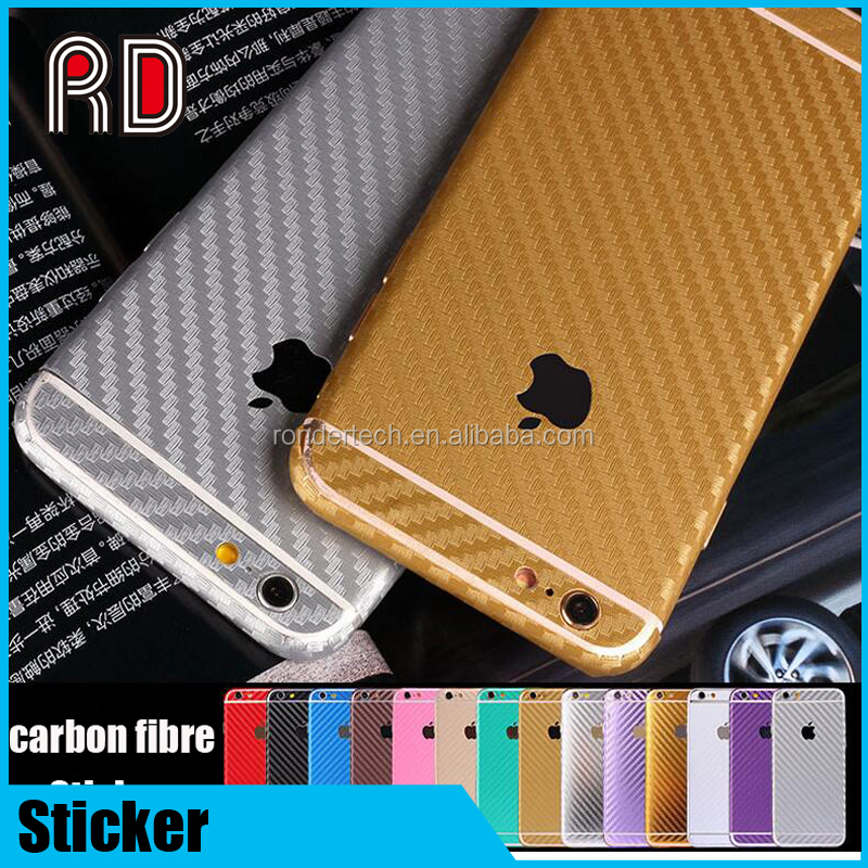 All cover body phone carbon fiber sticker case skin wrap protector for iphone 6 6plus 7 7plus, s7 edge, s7, s6, j5, j7