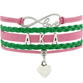 Love AKA Bracelet Alpha Ka Alpha Bracelets For Women Heart