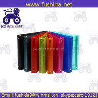 A4 Solid Color PP Clear Display Book, high quality PP Plastic Display Book