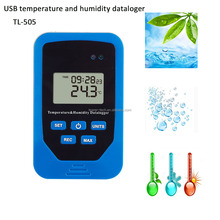 Lowest factory datalogger for <strong>temperature</strong> and humidity with USB interface TL-505