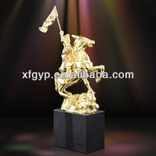 Knight Design metal award trophy made in China