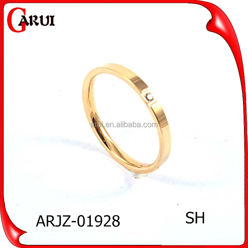 Fashion Jewelry 2016 Dubai Men Gold Engagement Rings For Woman