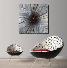 Wholesale Geometrical Abstract Painting Design on Canvas