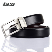 High Quality Pu Black Leather Mens