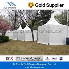3x3m White PVC Pagoda Tent for Wedding Marquee