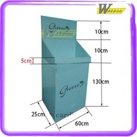 Custom Printing Cosmetic Exhibition Cardboard Standing Display Platform