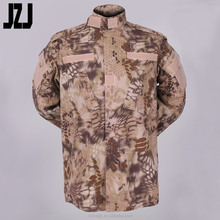 Factory Wuhan 65% Polyester35% Cotton Ripstop 180-320G ACU Military Uniform Army Camouflage Military Army Uniform