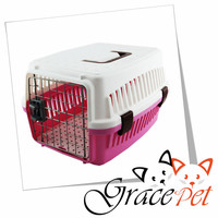 [Grace Pet] Wholesale Sample Free High Quality Plastic Dog Carrier