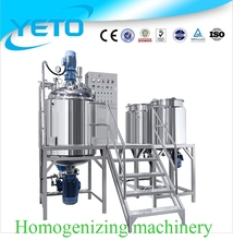 Homogenizer And Pasteurizer For Milk cosmetics whitening cream production line