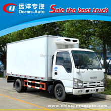 Japan brand 3t to 5t refrigerator cold room van truck