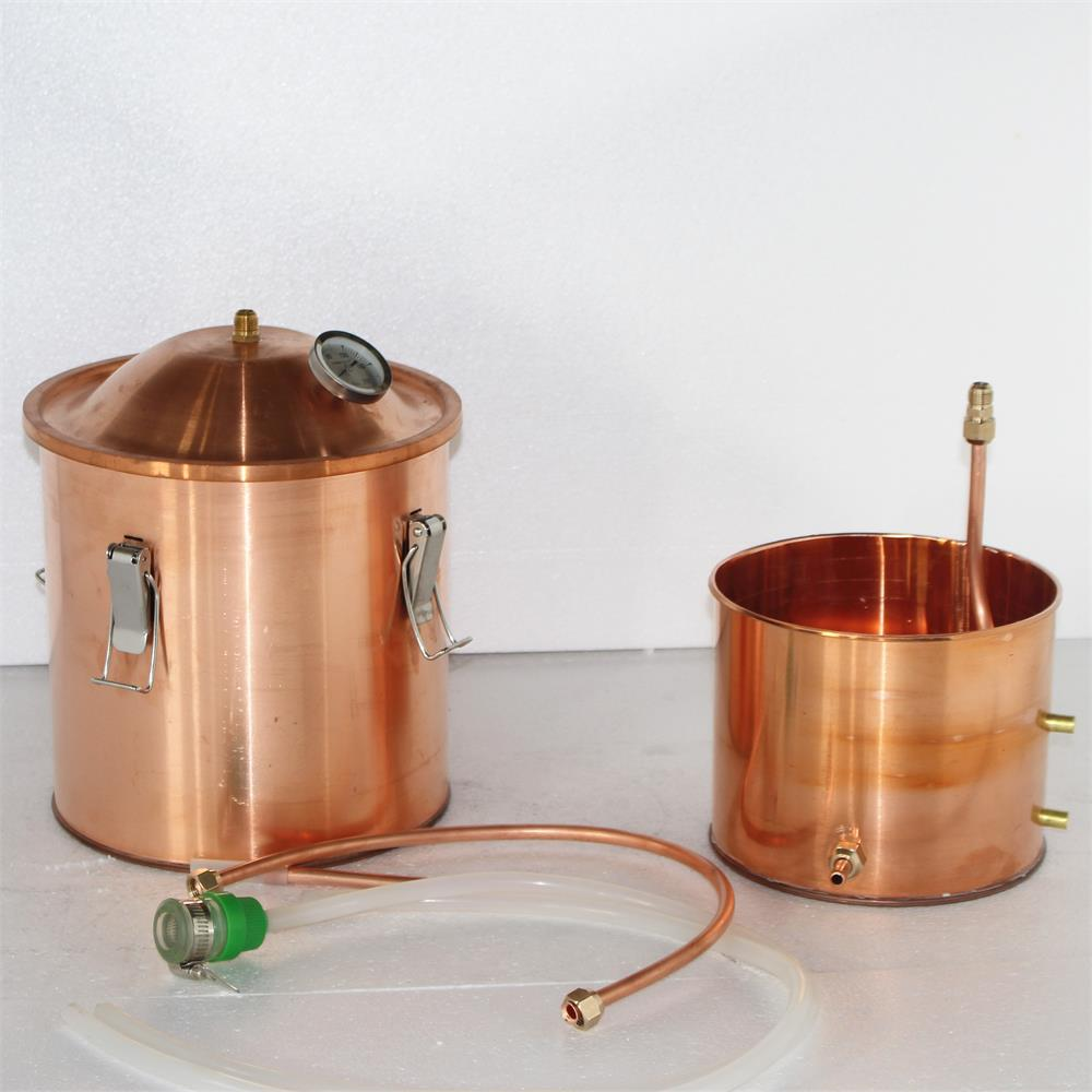 High quality Microbrewery copper distillers/beverage brewery equipment/copper brewery equipment