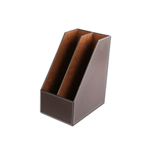 High Quality Document Cardboard PU Leather File Holder