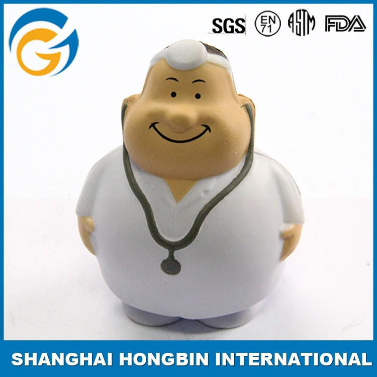 Work Man Shape Anti Stress Ball