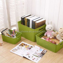 high quality cheap rattan plastic storage box Simple and practical storage boxes