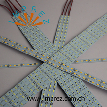 Indoor double chip 8520 led rigid bar DC12V DC24V Aluminium profile led strip bar