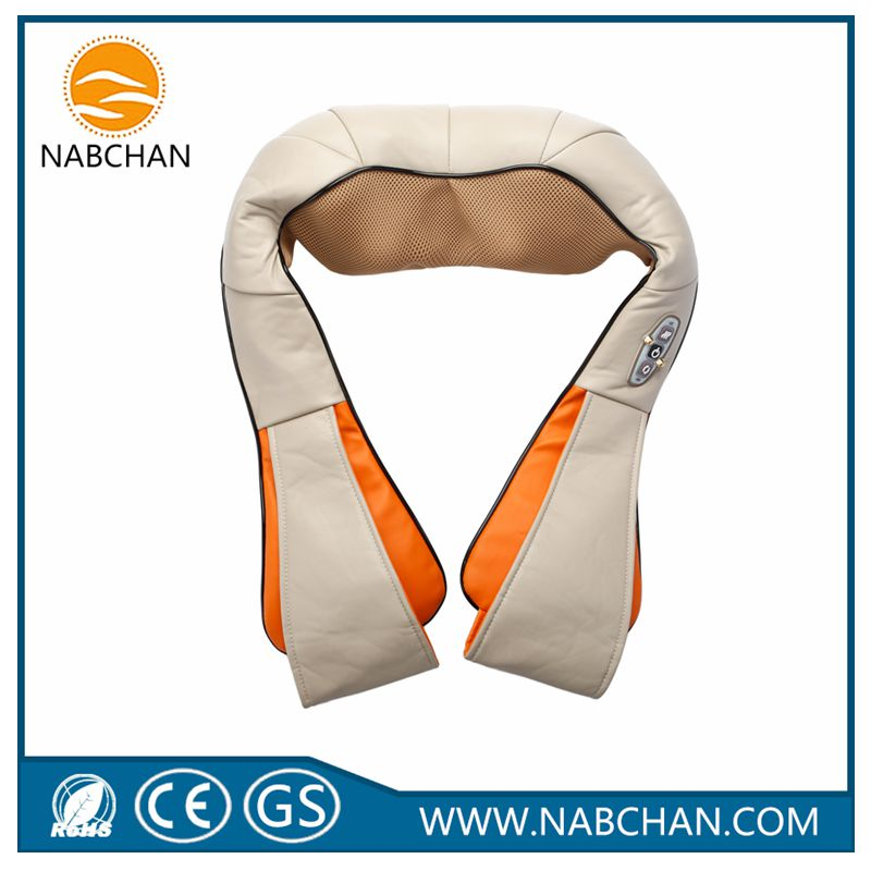 new products neck-shoulder-back-leg massager shawls 5-in-1 health care massage can use in car