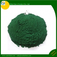 inorganic color pigment Green compound Iron oxide for concrete coating