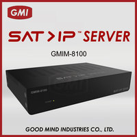 GMIM-8100 8 USERS WITH WIRE/WIRELESS CONNECTION ON SMART PHONES/TABLETS/IP STB SAT > IP SERVER