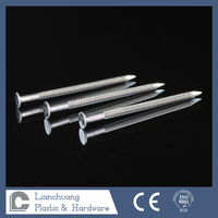Flat Head Stainless Steel Ring shank nails