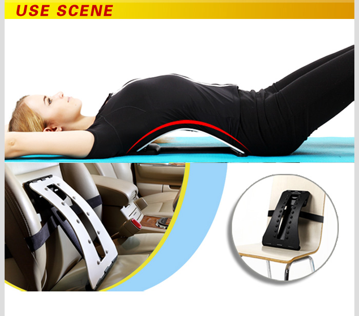 Fashion Flat magic back support with NBR pad lumbar back support EBB-002
