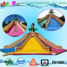 4 way multi-play mega giant inflatable pirate ship slide for children n adults
