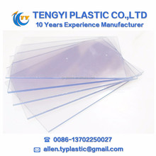 rigid transparent pvc sheet hard plastic transparent sheet PVC Clear Sheet