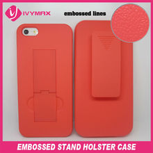 "new cover embossed cell phone case for apple iphone 5"" case"