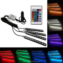 Most popular led strip light line 1M 2M car accessories interior ambient light