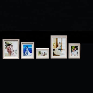 hot selling new arrival Photo frame wholesale wooden looking picture frame for wall collage