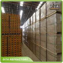 Coke oven use refractory fire clay brick