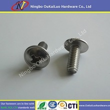 cylinder head machine slotted truss head machine screws