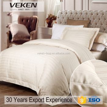 veken products 80sx100s white jacquard combed cotton 1000 thread count sheets